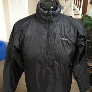 Patagonia 1/4 zip quilted jacket